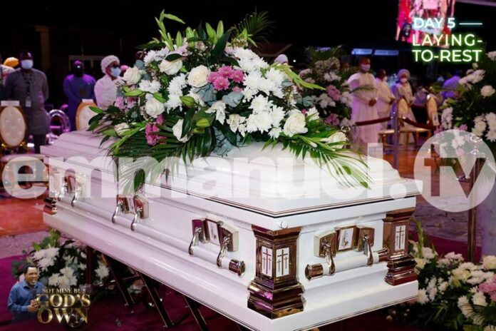 Tears Flow At SCOAN As Prophet TB Joshua Is Laid To Rest (Video)