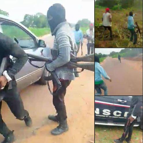 Biafra Motherland Warriors Attack, Kill Nigerian Security Agents [Video]