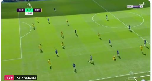 Watch Chelsea vs Crystal Palace Live Here