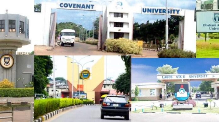 Top Universities Ranking: OAU, UI, Covenant Emerge Best Universities In Nigeria (See Full List)