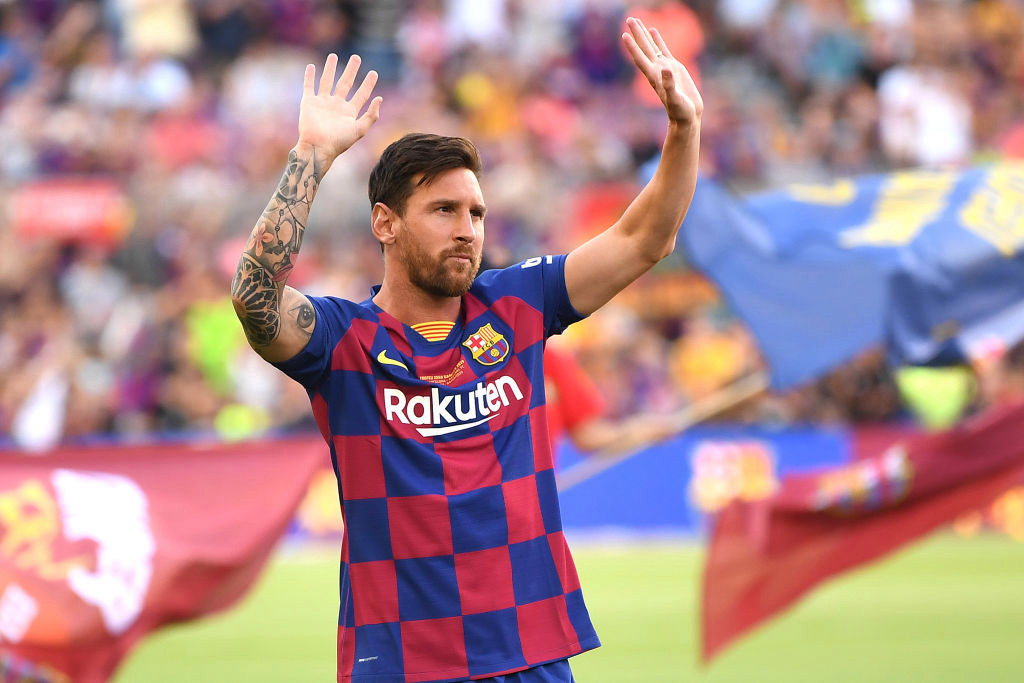 Messi Breaks Down In Tears At Barcelona Farewell Press Conference