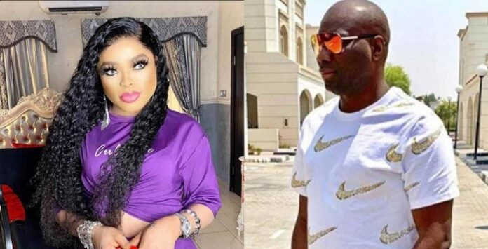 Bobrisky former personal assistant Oye Kyme has alleged that her former boss was in a romantic relationship with Mompha.