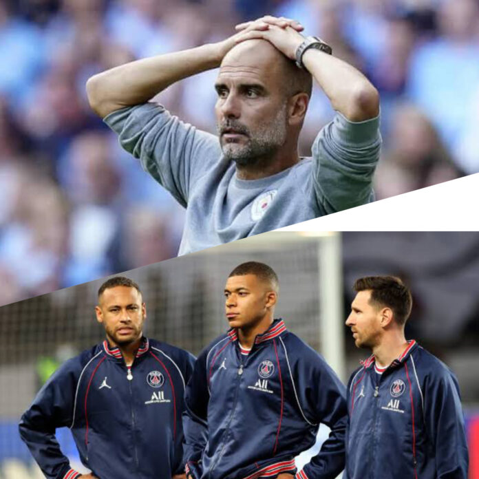 PSG vs Man City: I Don't Know How To Stop Messi, Neymar And Mbappe – Pep Guardiola Cries Out