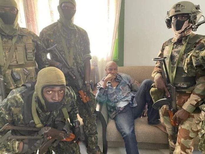 BREAKING Military Coup As Guinea President, Conde Arrested