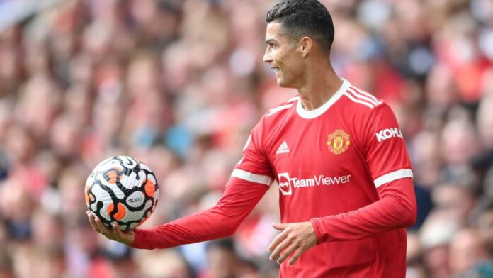 Ronaldo Reacts After Scoring Two Goals Against Newcastle On His Second Debut For Man Utd