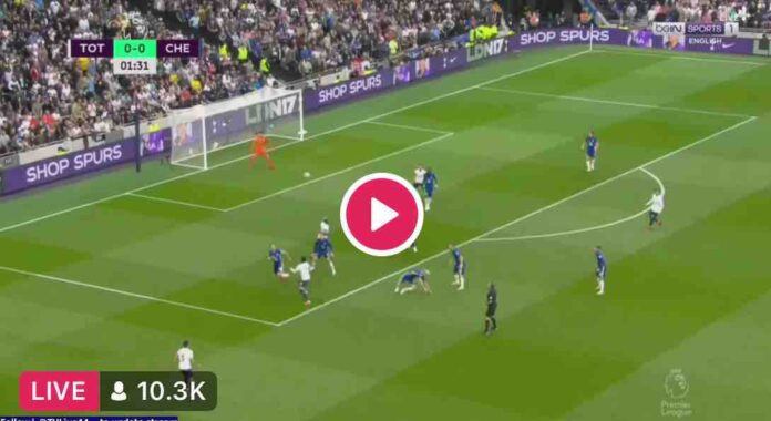EPL: Watch Tottenham Vs Chelsea Live Here