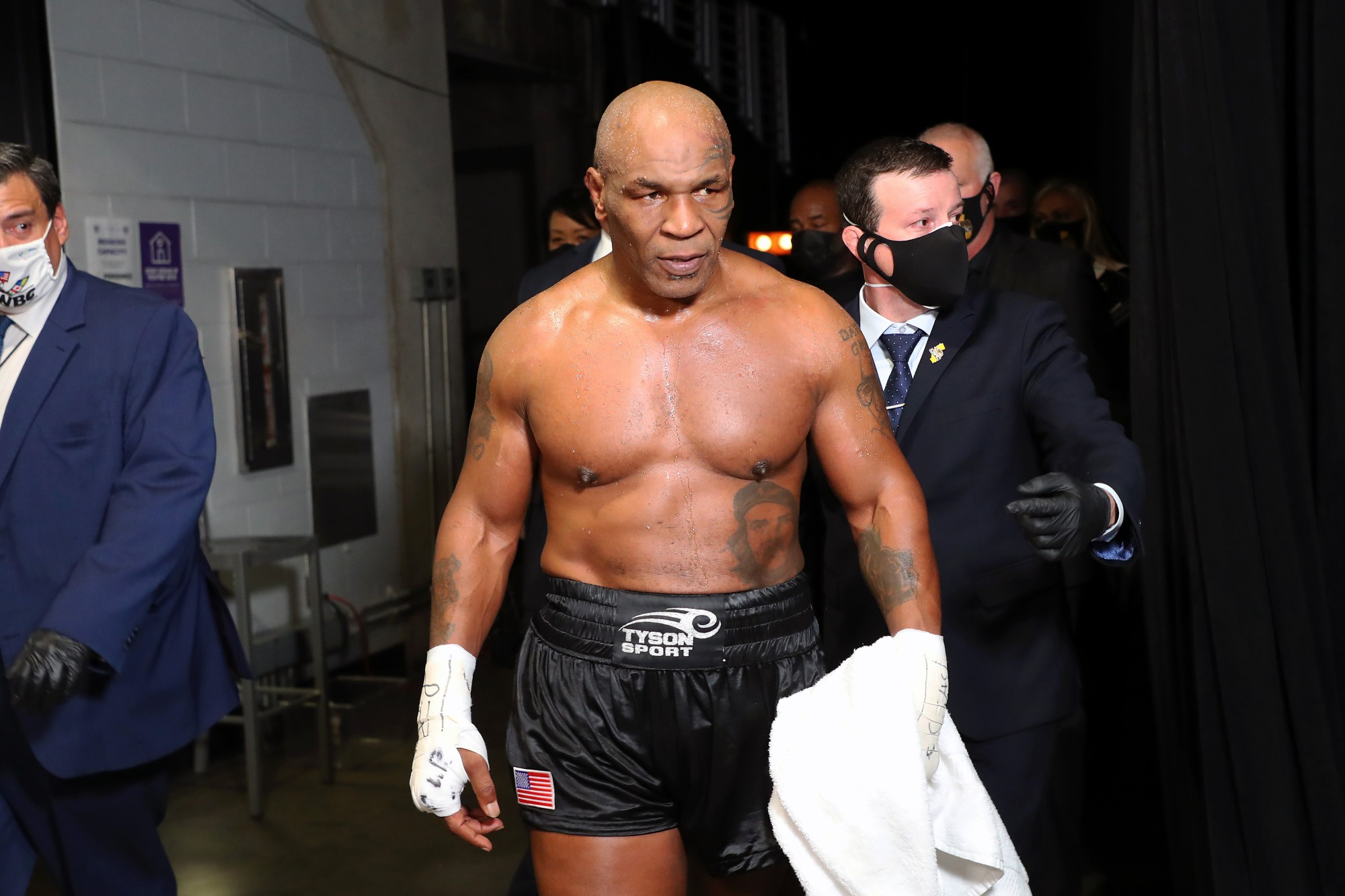 """Mike Tyson Accused Of Being """"Scared"""" To Fight Rival Evander Holyfield"""