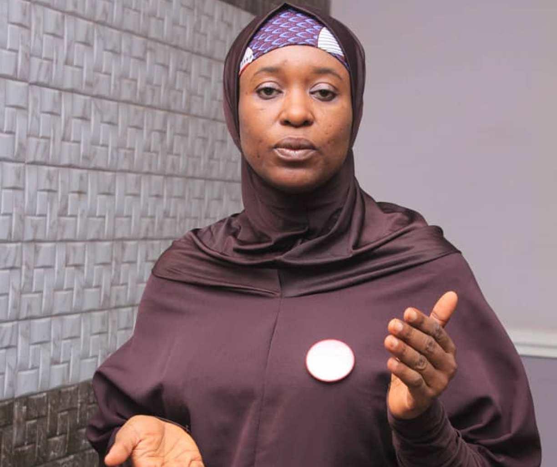 Aisha Attacks Ex-President Goodluck Jonathan Calls PDP 'Terrorist Party'