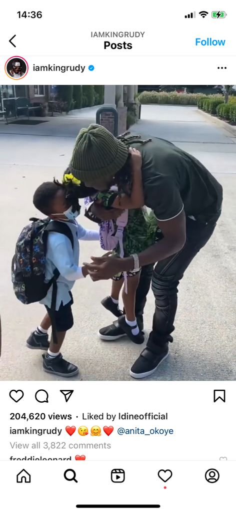 Psquare Paul Okoye Unite With Wife And Children Amidst Divorce Rumors (VIDEO)