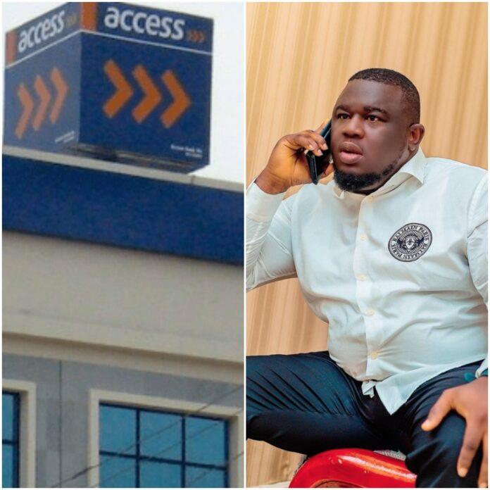 Soso Soberekon Calls Out Access Bank For Having Weak Banking Security As He Keeps Receiving Unknown Debit Alert