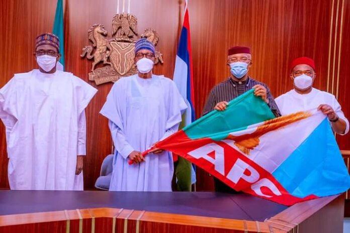 Deputy Governor of Anambra State Okeke joins APC, Meet Buhari