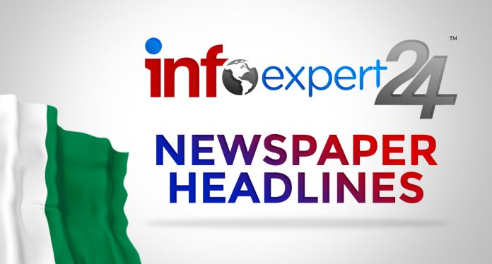 Top Stories From Nigerian Newspapers Today Wednesday, October 13, 2021