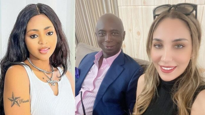 Trouble In Paradise As Ned Nwoko's Moroccan Wife Unfollows Him, Regina Daniels On Instagram