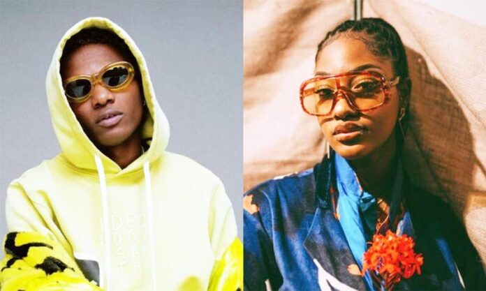 You're A Super Star – Wizkid Hails Tems As 'Essence' Goes Platinum In US